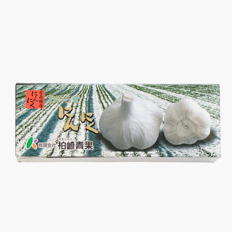 青森県産にんにく Lサイズ×3玉(化粧箱入り)