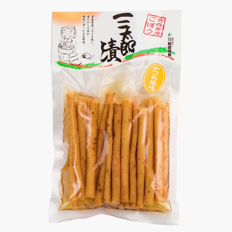 三太郎漬(ごぼうの漬物)かつお風味150g